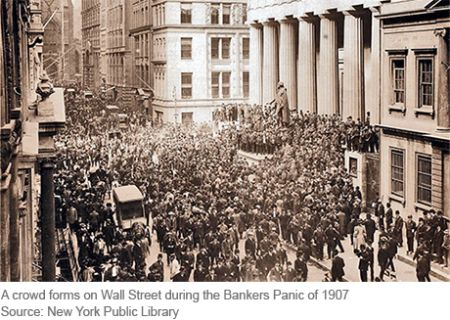 The Final Crisis Chronicle: The Panic Of 1907 And The Birth Of The Fed