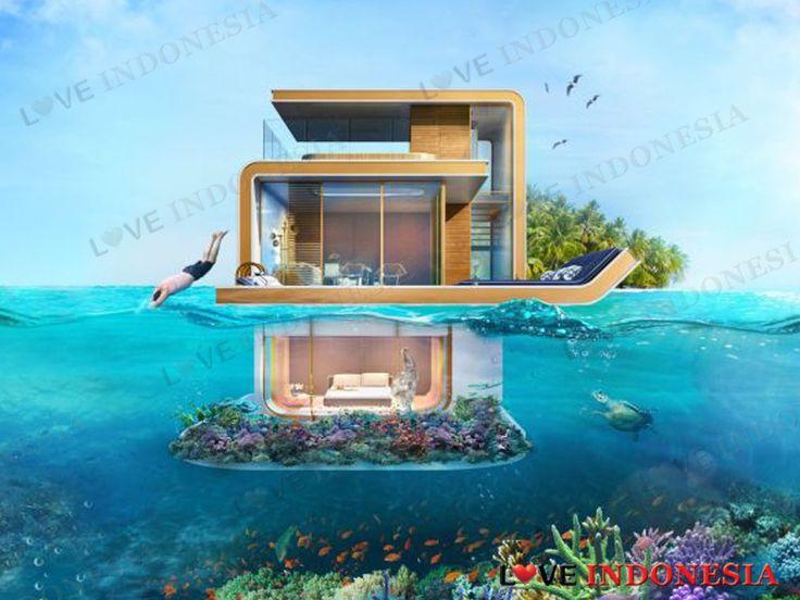 """Dubai Akan Bangun Rumah Apung dengan Pemandangan """"Kandang"""" Kuda Laut"""