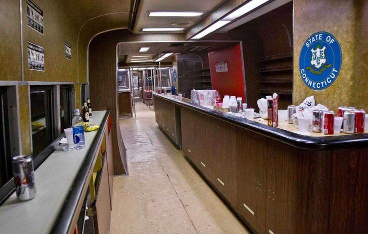 "Metro North Railroad ""The Bar car"""