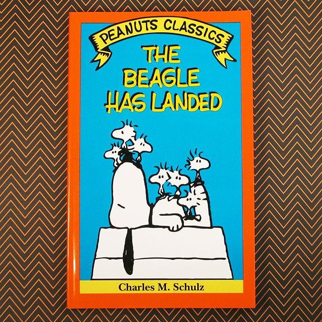CollectPeanuts.com on Instagram - The Beagle has Landed! #snoopy #woodstock #peanuts #charlesschulz #forsale #collectpeanuts #book #1990s #comics #cartoon #comicbook #doghouse #snoopygrams #snoopyfan #snoopycollection