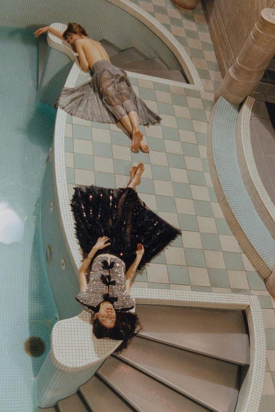 Numéro #174 June/July 2016  Hayett McCarthy & Alina Levichkina by by Amanda Charchian