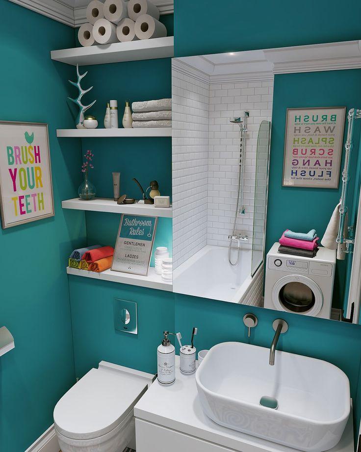 Скандинавский дизайн интерьера маленькой квартиры-студии 24 кв. м.-2