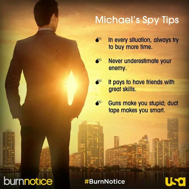 Burn Notice Wisdom