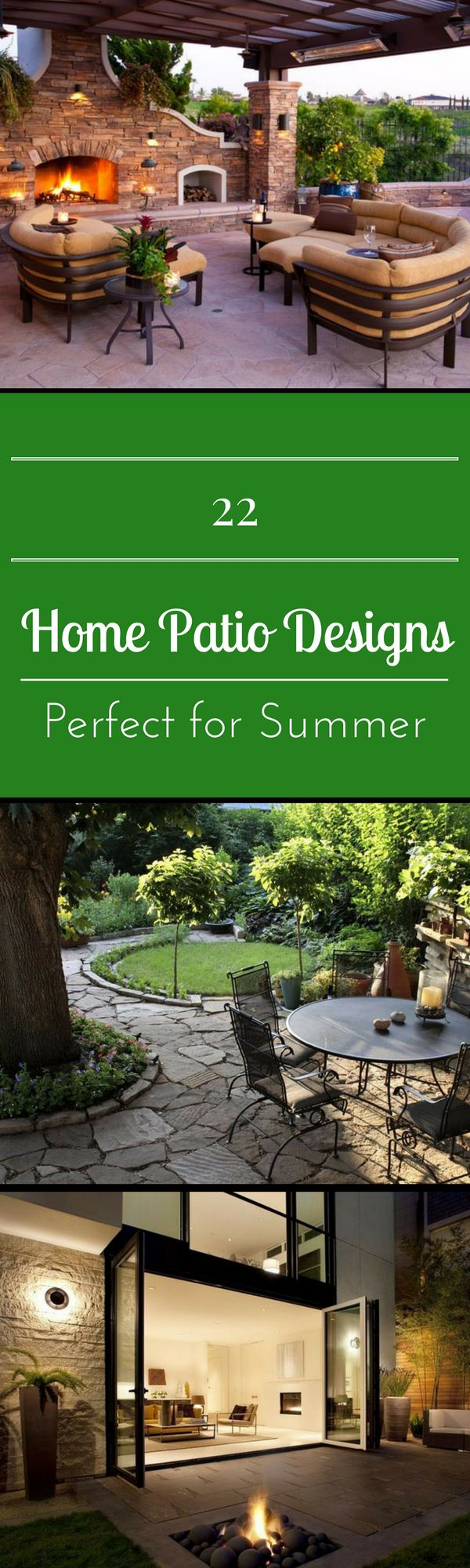 22 Home Patio Designs Perfect For Summer
