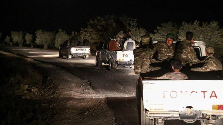 Erdogan: Turkey backing FSA rebels in new Idlib push