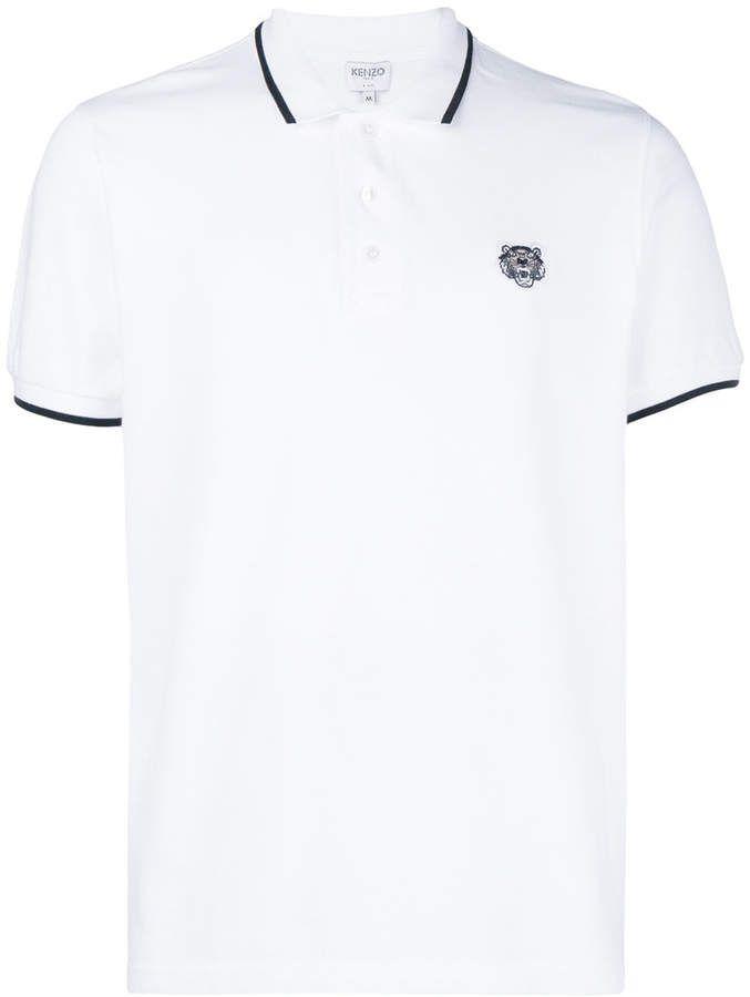 5b3207ebd6 Kenzo Tiger Logo Polo Shirt | Products | Polo shirt, Polo, Shirts
