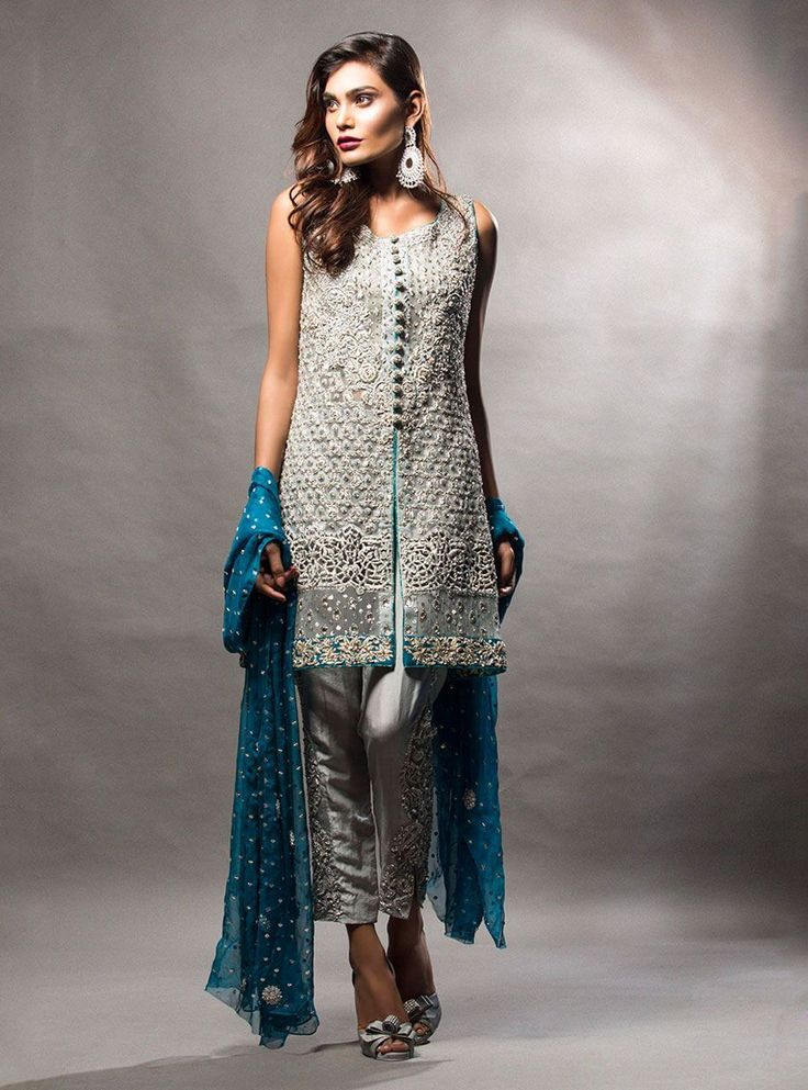 25 best ideas about pakistani party wear on pinterest for Pakistani dresses for wedding parties