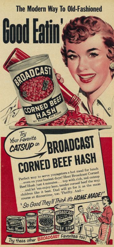 Broadcast Corned Beef Hash - it's the modern way to old-fashioned good eatin'.