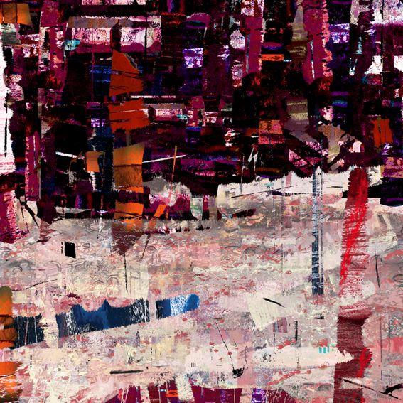"""Sonata Jesiennego miasta- Finale. Jedna z grafik z cyklu """"Sonaty Graficzne"""" inspirowanego muzyką. #graphic #art #digital #print"""