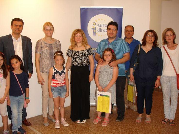 Ολοκληρώθηκε η παιδική έκθεση για την Ευρώπη στη Λάρισα