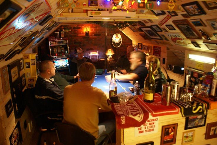 Meathead s attic poker mancave the man cave pinterest