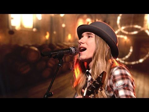 """The Voice 2015 Sawyer Fredericks - Top 8: """"Simple Man"""" (This is who I'd love to see win. This kid is 16! )"""
