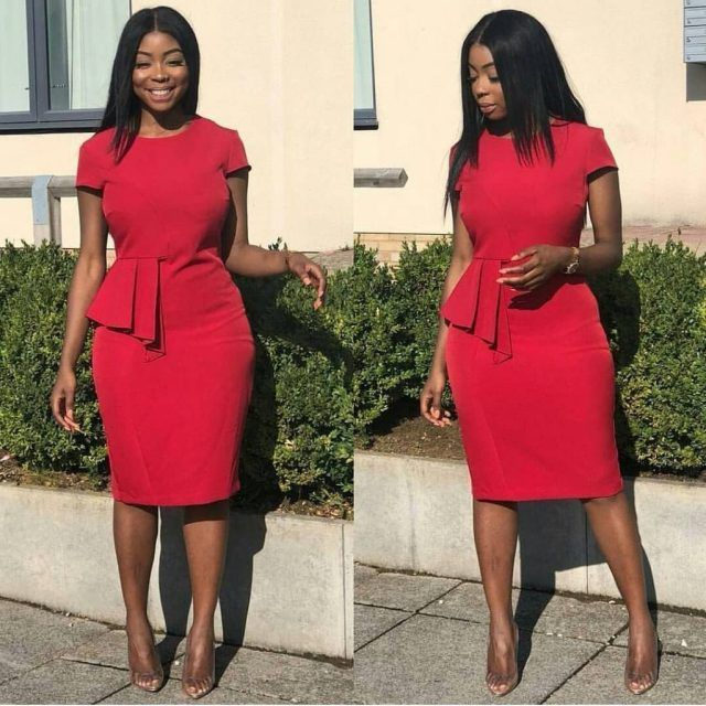 Corporate Gowns for Ladies in Nigeria You Can Rock To ...