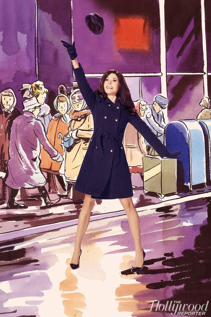 'The Mary Tyler Moore Show' | The Hollywood Reporter, Illustration by Zahar Lazar