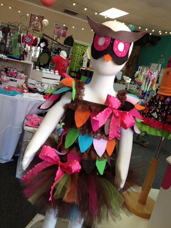 Owl Costume (like the tutu)