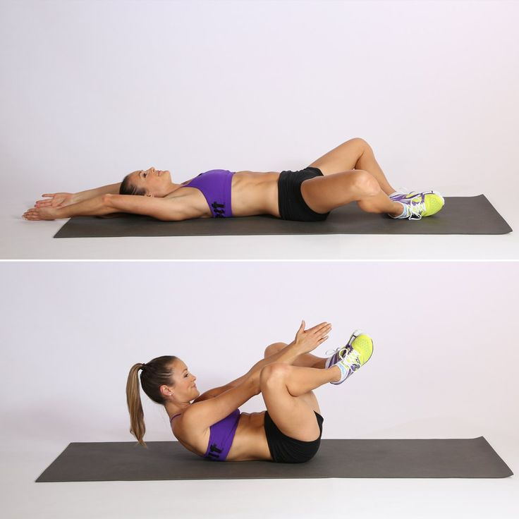 Work Your 6-Pack and Fight the Lower Belly Pooch With 1 Move