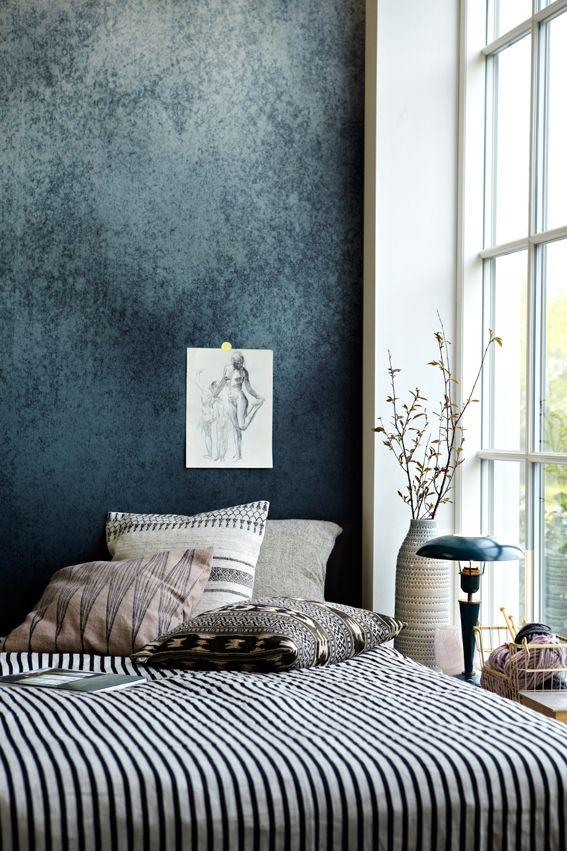 63 best Tendance bleue images on Pinterest Apartments, Bedroom