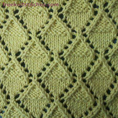 knitting techniques Sky Lantern