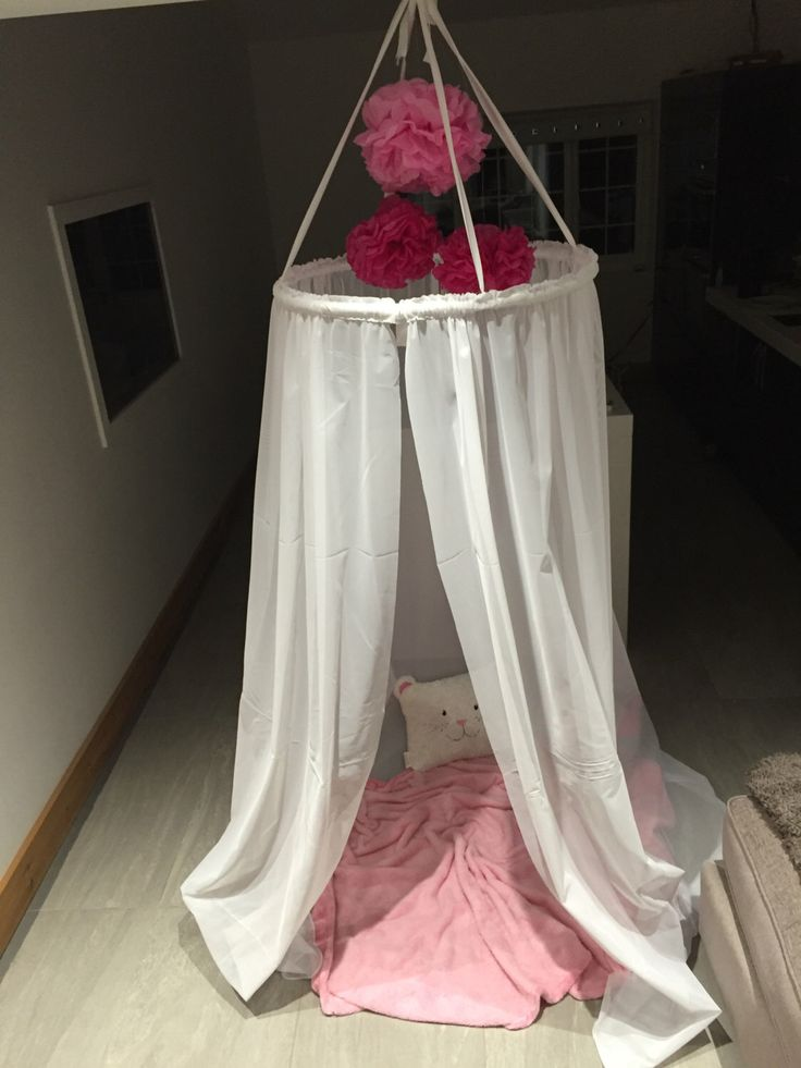 Gorgeous homemade canopy tent, bed canopy, princess canopy, reading nook, play tent by PrincesscanopyCrafts on Etsy https://www.etsy.com/uk/listing/288848785/gorgeous-homemade-canopy-tent-bed-canopy