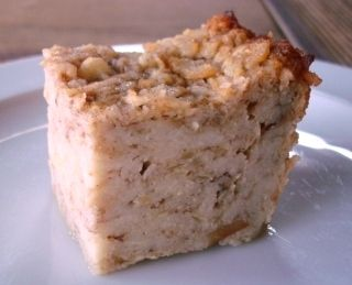 Apple matzoh kugel for Passover
