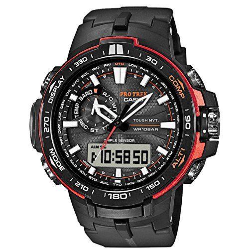 Casio Pro Trek Tough Solar PRW-6000Y-1ER Mens Wristwatch Multiband 6 & Solar