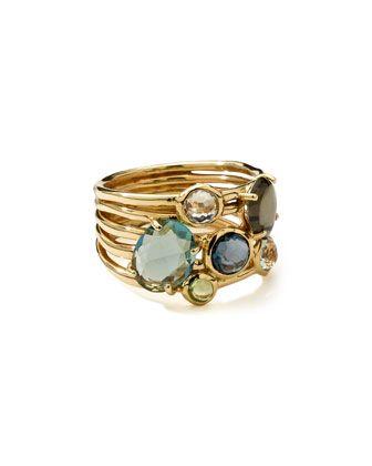 18k+Gold+Rock+Candy+Gelato+6-Stone+Cluster+Ring,+Tartan+by+Ippolita+at+Bergdorf+Goodman.