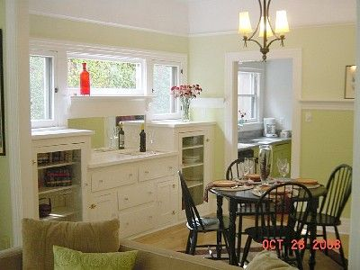 Craftsman Style Built In Cabinets