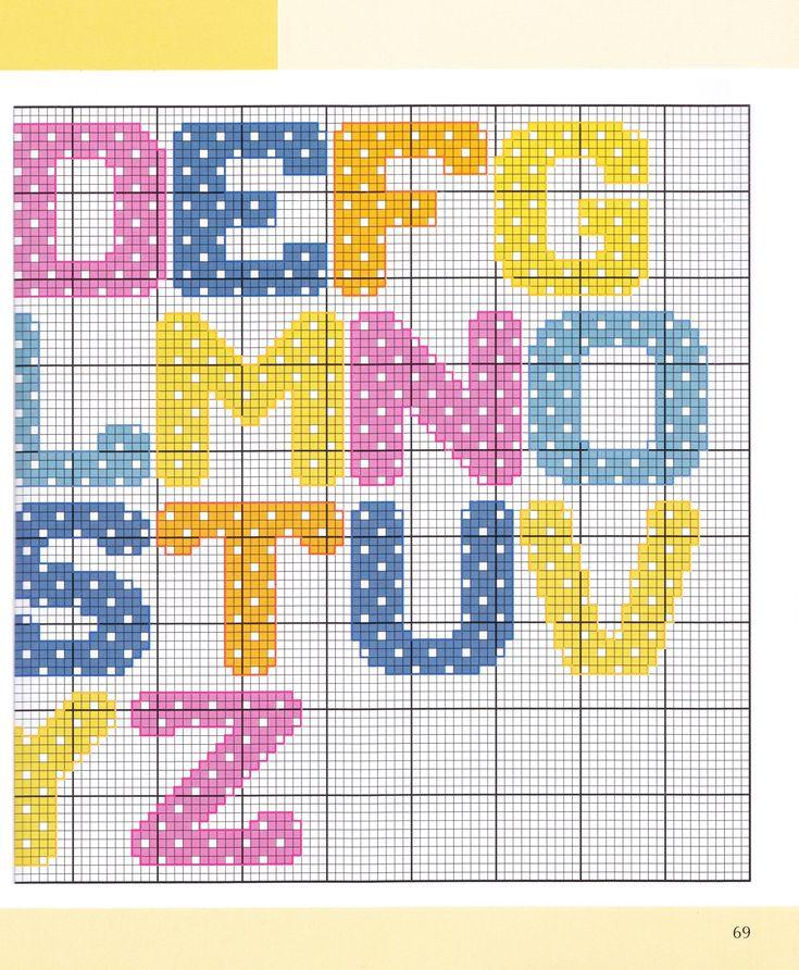 Polkadot Alphabet 2