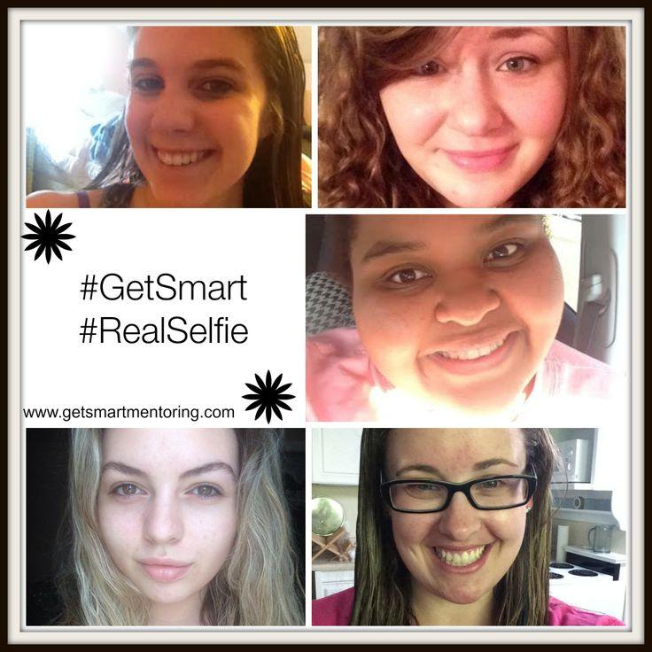 We #getsmart and honor who we are sans makeup! #realselfie! http://getsmartmentoring.com/realselfie-anyone/
