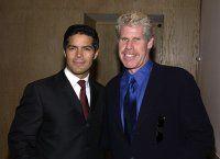 Ron Perlman and Esai Morales