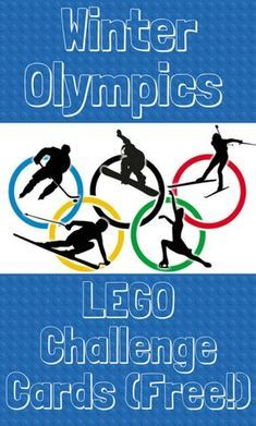 Olympic Lego Challenge Cards {Free download} - This Life of Ours