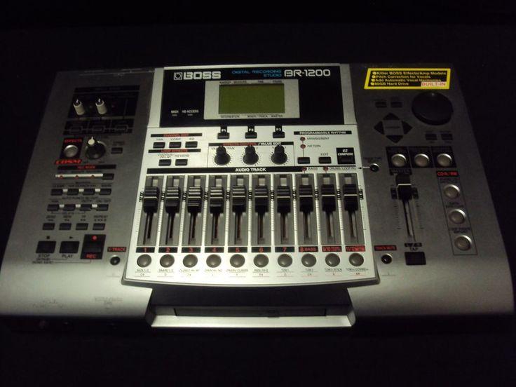 BOSS BR-1200CD Digital Multitrack Recorder, 80GB, Latest Version, CDRW & DRUMS  #Boss