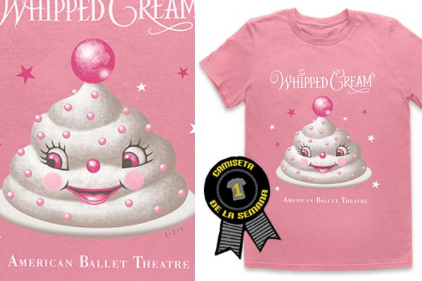 American Ballet Theater's Whipped Cream gifts...........    adding at a nutcracker ballet noel... so frothy!
