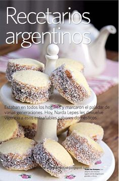 Alfajores de Maizena. Biscuit-type sandwich cookie with dulce de leche filling. Here is a recipe link: http://www.food.com/recipe/alfajores-de-maizena-298414