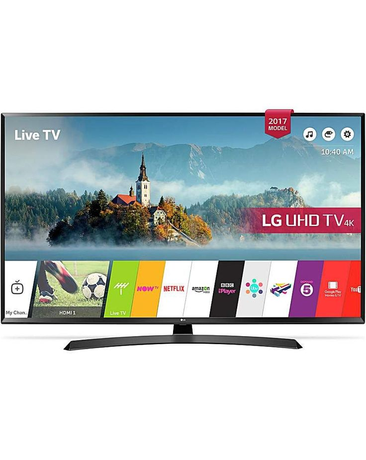 lg 43 inch smart 4k ultra hd tv with hdr smart tvs viera. Black Bedroom Furniture Sets. Home Design Ideas