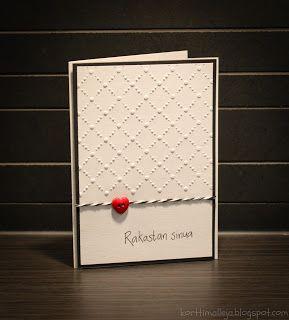 Kortteja ja vähän muuta: Rakastan sinua -kortti