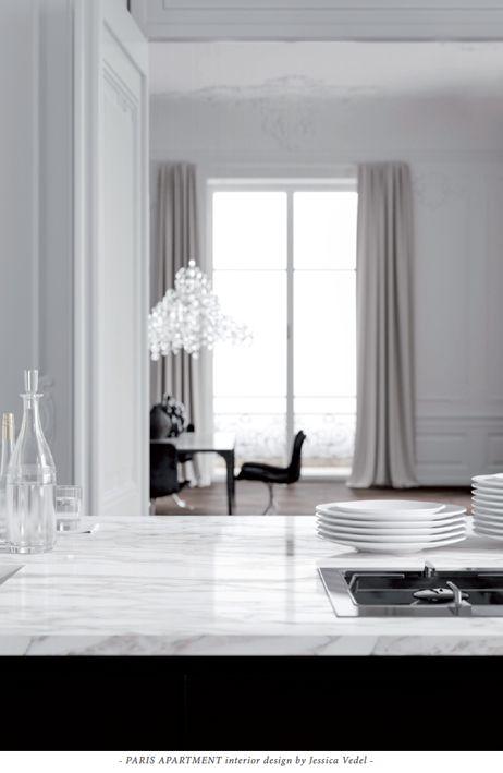 PARIS APARTMENT interior design by Jessica Vedel.