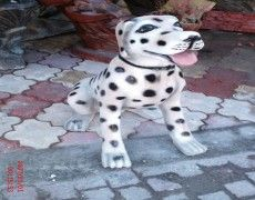 Dalmatian Dog Statue