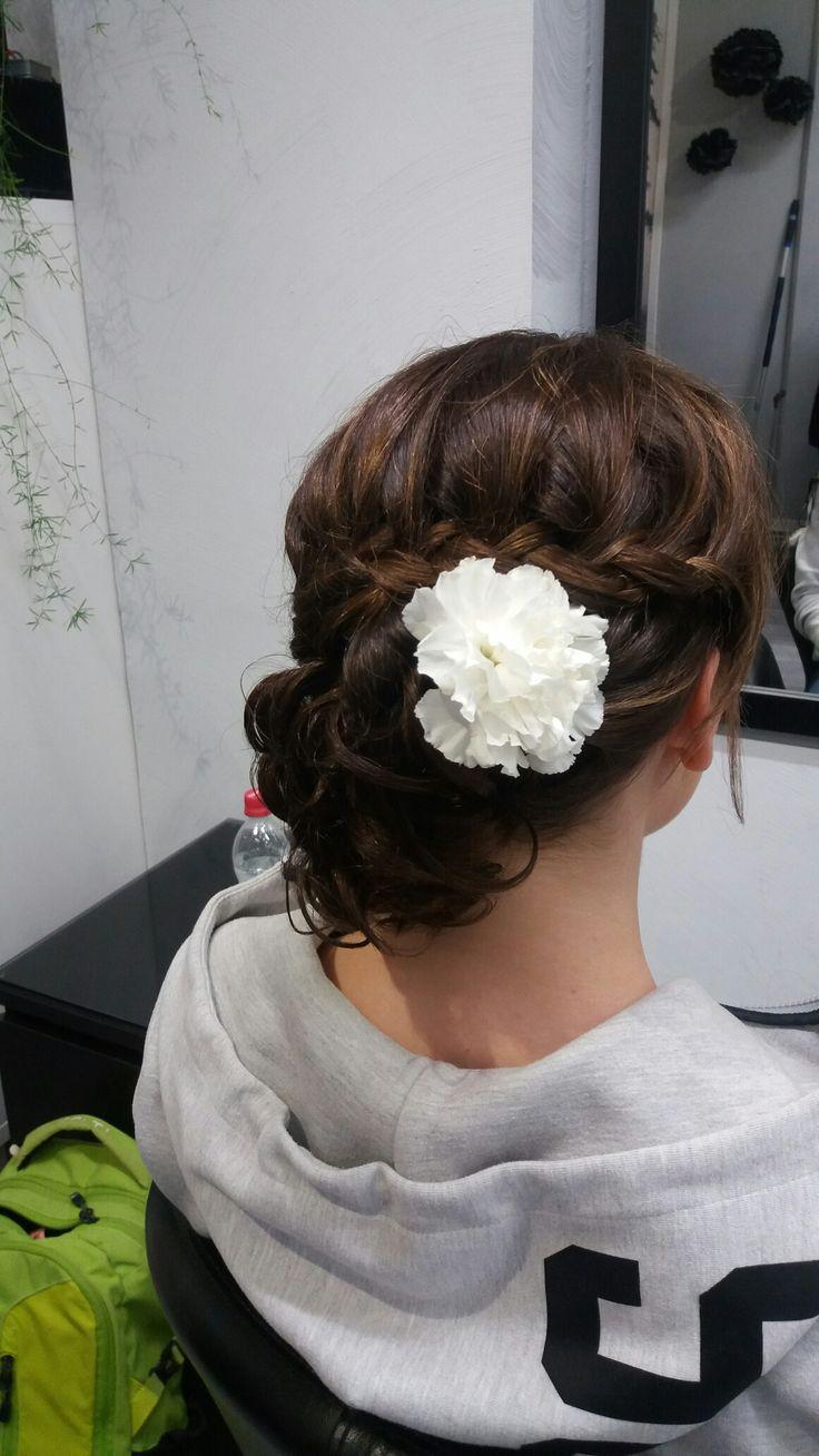 Updo for wedding by Niina Hannela