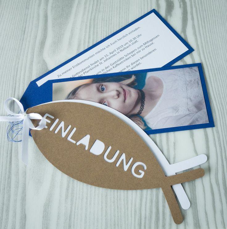 einladungskarte im f cherformat aus unserem set fisch passend zu dieser einladungskarte. Black Bedroom Furniture Sets. Home Design Ideas