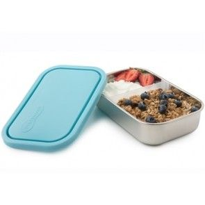 U Konserve - Sky Rectangle Container with Divider 33 oz