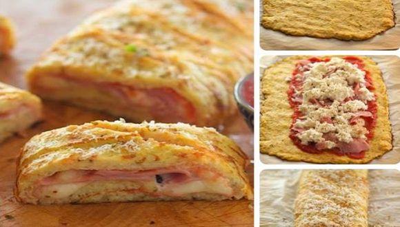Rotolo di patate con pomodoro prosciutto e formaggio, la ricetta