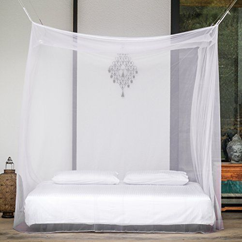 I just bought this and love it. EVEN Naturals® Mosquito Net with Two Openings for Double Bed | Netting Insect Malaria Zika Repellent | Free Carry Pouch, Hanging Kit & eBook | Money-back Guarantee . you can see what others said about it here http://bridgerguide.com/even-naturals-mosquito-net-with-two-openings-for-double-bed-netting-insect-malaria-zika-repellent-free-carry-pouch-hanging-kit-ebook-money-back-guarantee/