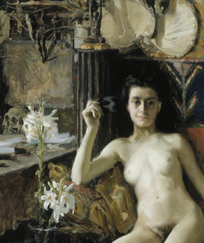 Akseli Gallen-Kallela Demasquee 1888