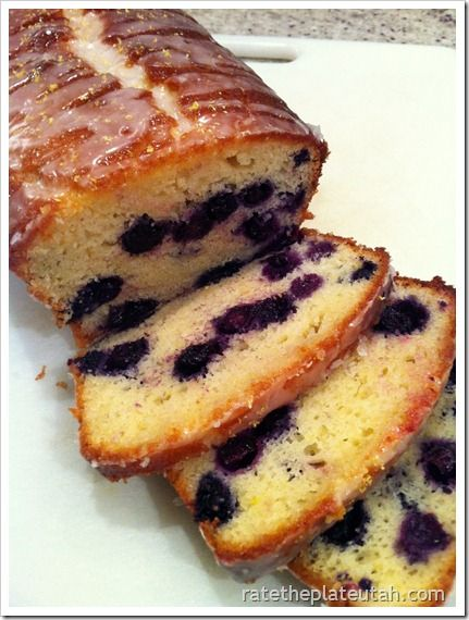 Lemon-Blueberry Yogurt Loaf - sweet, tangy, and moist lemon blueberry bread recipe with a delicious and sugary glaze.