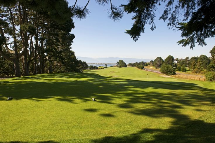 © VGC   Hole 4   Olympics   A spectacular view of the Strait of Juan de Fuca greets you as you turn back into the prevailing wind to play this short but challenging par four. An elevated tee gives you the first sense of the gusts that'll affect your play in the next few holes. #golf #golfcourse #westcoast #yyj #victoriagolfclub