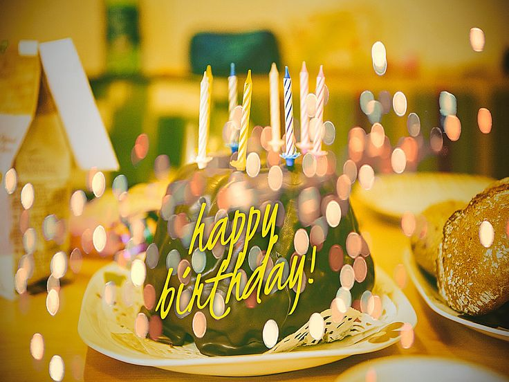 One candle on your chocolate birthday cake for each friend you truly love.