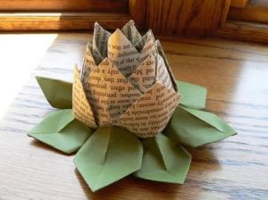 paper lotus by saundra