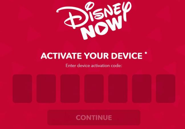 Www Disneynow Com Activate How To Activate Device Disney Now App