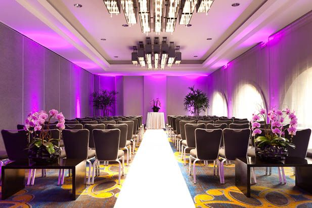 Sofitel Los Angeles at Beverly Hills for Your Wedding: Located in the heart of Los Angeles, this glamorous hotel is sure to impress with their experienced Catering Team and excellent French Cuisine.